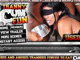 Welcome to Tranny Cum Fun - extreme shemale sex and huge cumshots!