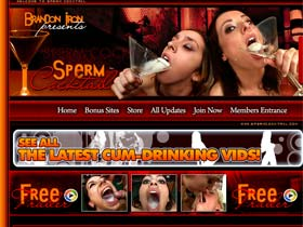 Welcome to Sperm Cocktail - beautiful sluts fuck in group sex and get cumload!