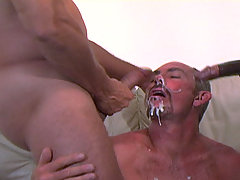 Gay interracial bear threesome huge facials