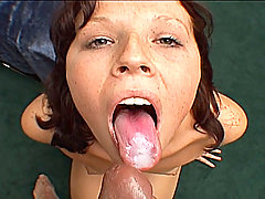 Incredible hardcore oral sex action with cum-loving Nicole