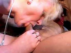 Mature and milf suck cock
